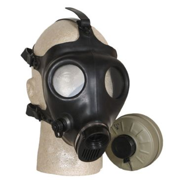 Fox Outdoor Israeli Army Gas Mask With Filter Save 25% Brand Fox Outdoor.