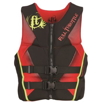 Full Throttle Mens Hinged Rapid-Dry Flex Vest Save 35% Brand Full Throttle.