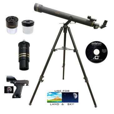 Galileo G-872bg 800x72mm Black Granite Refractor Telescope Kit Save 54% Brand Galileo.