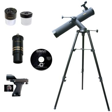 Galileo G-80080tr 800x80mm Astronomical Reflector Telescope Kit Save 48% Brand Galileo.