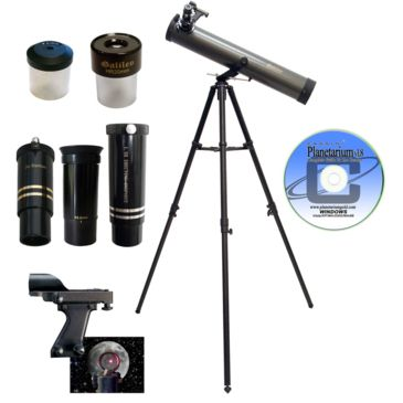 Galileo Fs-80z 800x80mm Zoom Reflector Telescope Kit Save 50% Brand Galileo.
