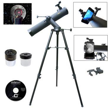 Galileo Astronomical Reflector Telescope W/ G-Spa Smartphone Adapter Save 48% Brand Galileo.