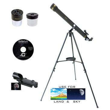 Galileo Refractor Telescope 1.25in 6mm Eyepiece 20mm Eyepiece Save 50% Brand Galileo.