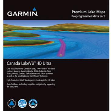 Free Garmin Canada Map Garmin Canada LakeVü HD Ultra GPS Map | w/ Free S&H