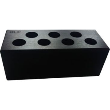 Glfa Cartridge Gauge .380acp 7-Holes Anodized Black Save 14% Brand Glfa.