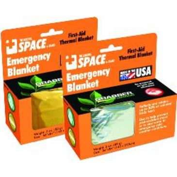 Grabber Emergency Space Blanket, Orange Save Up To 35% Brand Grabber.