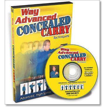 Gun Video Dvd - Way Advanced Concealed Carry X0484d Save 43% Brand Gun Video.