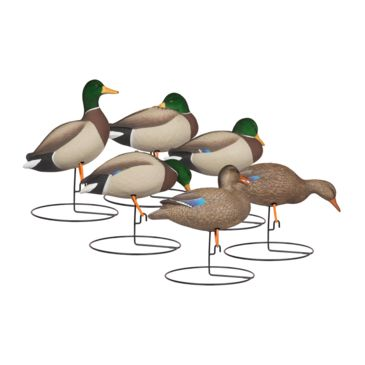 Hard Core Rugged Fb Mallards Flocked Drake Heads Touchdown Save $10.00 Brand Hard Core.