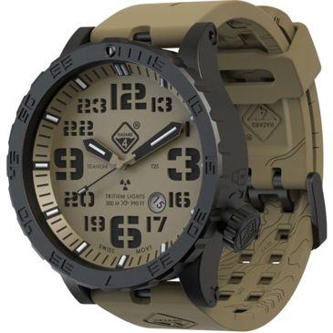 Hazard 4 Heavy Water Diver 50mm Black Titanium Watch With Tritiumfree 2 Day Shipping Save 10% Brand Hazard 4.