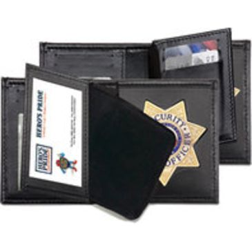 Hero&039;s Pride Deluxe Bi-Fold Badge Wallet W/ Two Id Windows Save Up To 39% Brand Hero&039;s Pride.