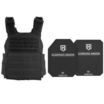 Highcom Security Acap Series Rifle Armor Kit Plate Carrier W/guardian Ar500 Steel Plates Save $48.70 Brand Highcom Security.
