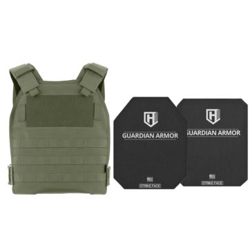 Highcom Security Tfo Series Rifle Armor Kit Plate Carrier W/guardian Rstp Ceramic Plates W/uhmwpe Backing Save 10% Brand Highcom Security.