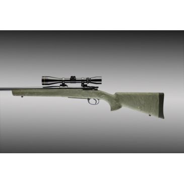 Military//Sporter Actions Hogue 98800 Mauser 98 OverMolded Stock Pillarbed Ghillie Green