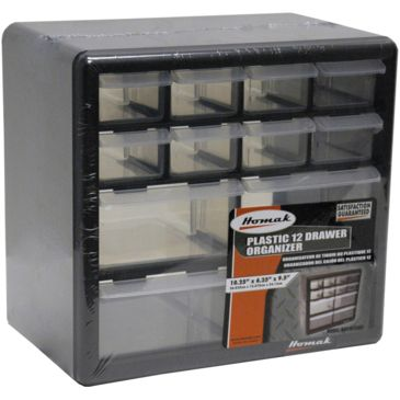 Homak 12-Drawer Parts Organizer Save 34% Brand Homak.