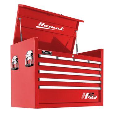 Homak 36in H2pro Series-8 Drawer Top Chest Brand Homak.