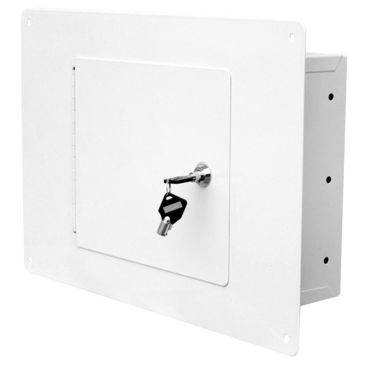 Homak Between The Studs White Wall Safe Save 31% Brand Homak.
