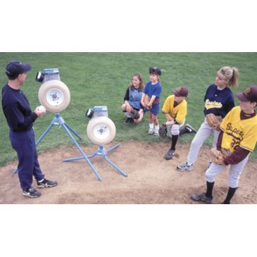 Jugs Jr. Baseball/softball Pitching Machine Brand Jugs.