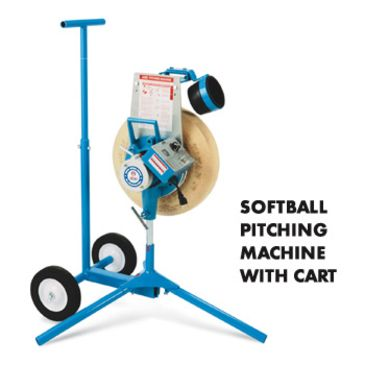 Jugs Sports 12-Inch Softball Pitching Machine W/ Cart Brand Jugs.