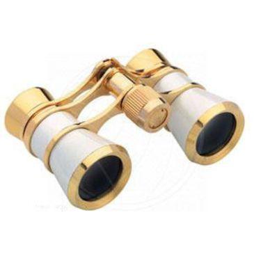 Konus 3x25 Deluxe Gold/white Opera Glasses - 2055 Save 13% Brand Konus.