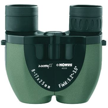 Konus Zoomy 25 Pocket Zoom 8-17x25 Binoculars 2059coupon Available Save 17% Brand Konus.
