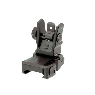 Leapers Utg Low Profile Flip-Up Rear Sight With Dual Aiming Aperturebest Rated Save 30% Brand Leapers.