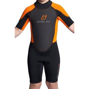 Level Six Child&039;s Shorty Wetsuit Brand Level Six.