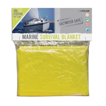 Lifeline Marine Survival Blanket Brand Lifeline.