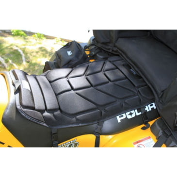 ATV Seat Protector Motorcycle Comfort Ride Cushion Foam Cover 3 Release Buckles