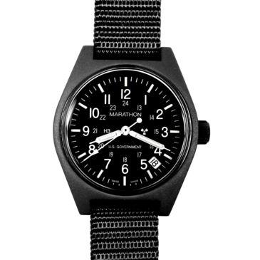 Marathon Watch General Purpose Quartz Wristwatch W/date And Tritium, Gpq Save Up To $22.01 Brand Marathon Watch.