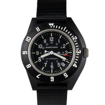 Marathon Watch Pilots Navigator Wristwatch W/date And Tritium Save Up To 20% Brand Marathon Watch.