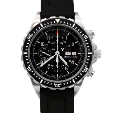 Marathon Watch Search And Rescue Pilots Automatic Chronograph Wristwatch, Csarfree 2 Day Shipping Save 13% Brand Marathon Watch.