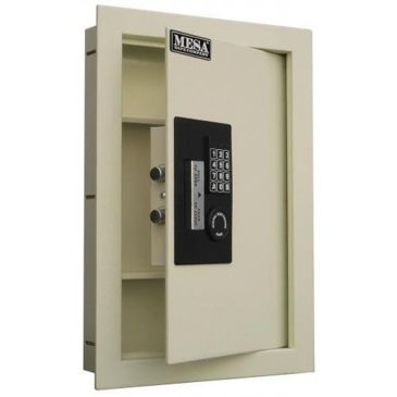 Mesa Safes Adjustable Wall Safe - Off White Finish Save 17% Brand Mesa Safes.