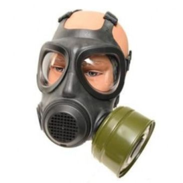 Military Surplus A4 Forsheda Gas Mask Respirator With Filter Save $10.00 Brand Military Surplus.