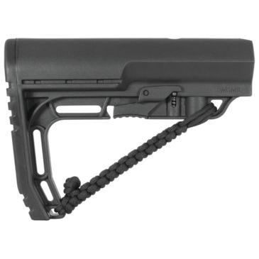 MFT 2 Mission First Tactical Stock Minimalist Battlelink Adjustable Mil-Spec BLK