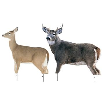Montana Decoy Co. Dream Team Whitetail Doe And Buck Decoy Save 22% Brand Montana Decoy Co..