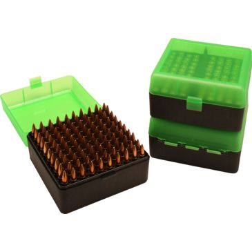 Multiple MTM 100 Round Rifle Ammo Box RM-100 munitions de pistolet Tir NV