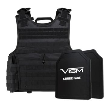 Ncstar Expert Plate Carrier Vest W/ Two 11 In X 14 In Shooters Cut Hard Pe Ballistic Panels Save 20% Brand Ncstar.
