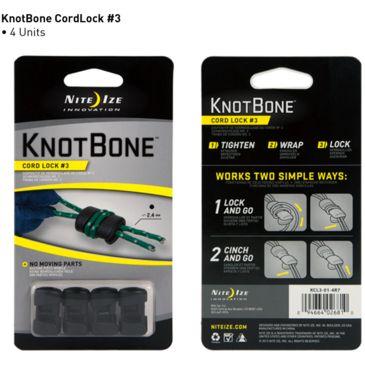 Nite Ize Knotbone Size 3 Cord Lock - 4-Pack Save 31% Brand Nite Ize.