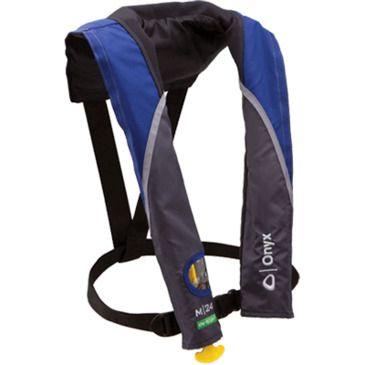 Onyx M-24 In-Sight Manual Life Jacket Save 30% Brand Onyx.