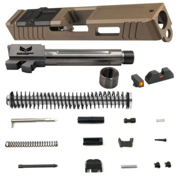 Opticsplanet Exclusive Glock 19 Gen 4 Fde Build Kit Brand Opticsplanet.
