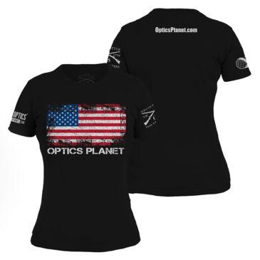 Opticsplanet Women&039;s Exclusive Grunt Style American Flag T-Shirt Save 20% Brand Opticsplanet.