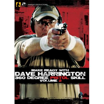Panteao Productions Make Ready With Dave Harrington: 360 Degree Pistol Skill, Vol 2 Dvd Save 26% Brand Panteao Productions.