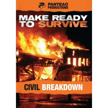 Panteao Productions Make Ready To Survive: Civil Breakdown Save 23% Brand Panteao Productions.