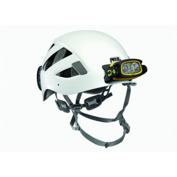 Petzl Boreo Caving Helmet With Duo Mount Plates On Front And Rearnewly Added Brand Petzl.