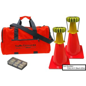 Powerflare 2-Position Powerflare Traffic Control Kit Save Up To $16.68 Brand Powerflare.