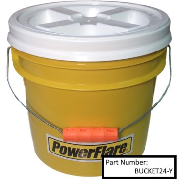 Powerflare Easy-Twist Lid Bucket Brand Powerflare.