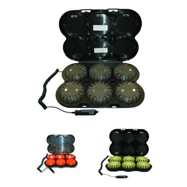 Powerflare Pf-200r Rechargeable Safety Led Light Kit, Pack Of 6 Save Up To 10% Brand Powerflare.