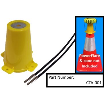 Powerflare Traffic Cone Top Adapter For Powerflare Lights Save Up To 13% Brand Powerflare.