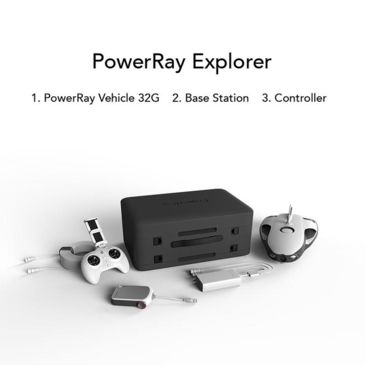 Powervision Powerray Underwater Robot, Explorer Package Save 17% Brand Powervision.