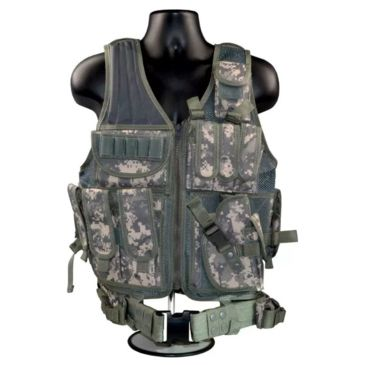 Sniper Tactical Multi Function Molle Plate Vest W/ Carrier For Bullet Clips, Bullets W/ Pouch Save Up To 18% Brand Sniper.